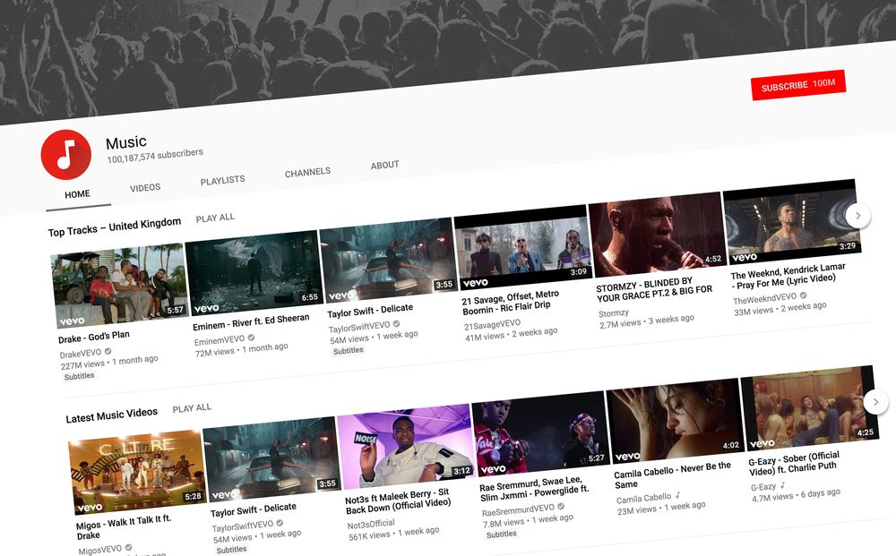 YouTube push for users to pay for music subscriptions