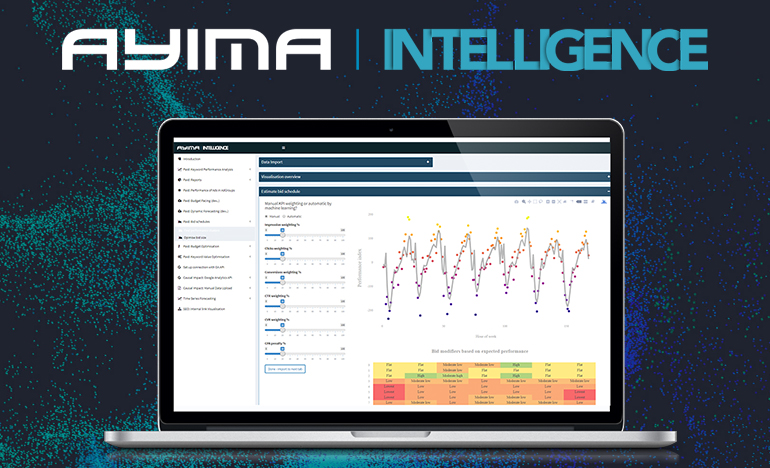 Ayima launch new machine learning tool, Intelligence