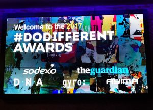 #DODIFFERENT AWARDS 2017