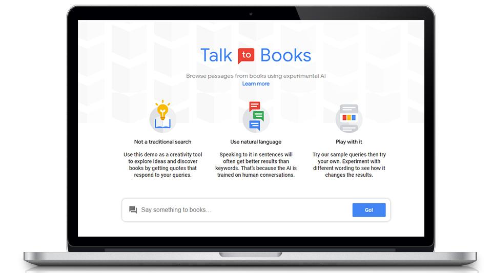 Google Talk to Books