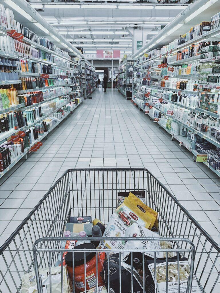 supermarket design and content design